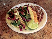 2 Regular Tacos Lunch Special