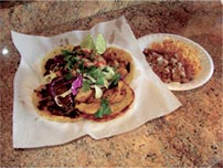 4 Small Tacos Lunch Special